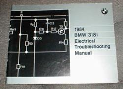 1984 E30 318i Electrical Troubleshooting Manual