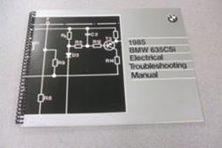 1985 E24 635CSi Electrical Troubleshooting Manual