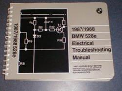 1987/1988 E28 528e Electrical Troubleshooting Manual