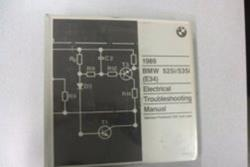 1989 E34 Electrical Troubleshooting Manual