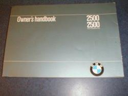 1969 2500, 2500 automatic owners manual.