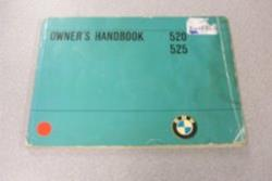 1974 E12 5 Series Owners Manual