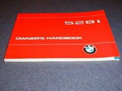 1979 E12 5 Series Owners Manual