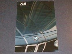1982 733i sales brochure - US market, English language
