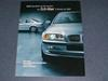 Preliminary E46 3 litre 3 Series Sales Brochure