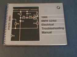 1986 524TD Electrical Troubleshooting Manual