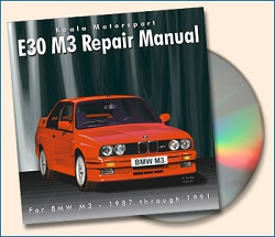 E30 M3 Repair Manual CD